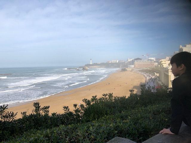 Biarritzより愛を込めて